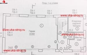 ПРОЕКТ ГАРАЖА 219.2 М²