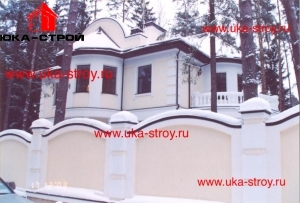 ПРОЕКТ КИРПИЧНОГО ДОМА 415 М²