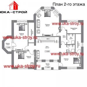 ПРОЕКТ КИРПИЧНОГО ДОМА 466 м²