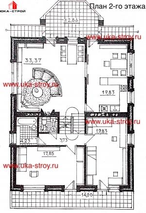 Проект кирпичного дома 278 М²