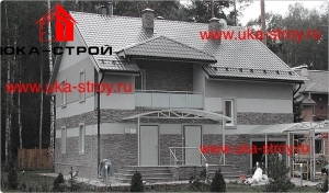 ПРОЕКТ КИРПИЧНОГО ДОМА 203 М²