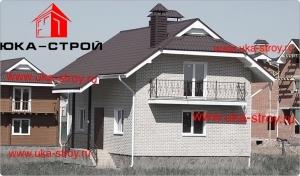 ПРОЕКТ КИРПИЧНОГО ДОМА  133 М²