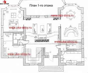 ПРОЕКТ КИРПИЧНОГО ДОМА 484.5 М²