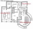 Проект кирпичного дома c бассейном: 756 М²